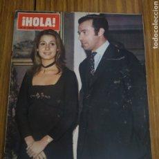 Coleccionismo de Revistas y Periódicos: REVISTA HOLA MARTÍNEZ BORDIÚ FRANCO Y ALFONSO DE BORBON DAMPIERRE 1422 - 27 DE NOVIEMBRE DE 1971. Lote 194625123