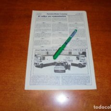Coleccionismo de Revistas y Periódicos: RETAL 1986: NUEVO MERCEDES DE JOSÉ LUIS RIVERO. DON FACUNDO. LA PALMA, SUBIDA AL TUNEL DE LA CUMBRE. Lote 194638232