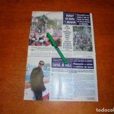 Coleccionismo de Revistas y Periódicos: CLIPPING 1995: JAIME DE MORA - RAFAEL DE PAULA. Lote 194640018