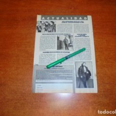 Coleccionismo de Revistas y Periódicos: CLIPPING 1988: JAIME DE MORA. TINA TURNER. LINDA EVANS. ROBERT WAGNER. . Lote 194643227