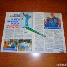 Coleccionismo de Revistas y Periódicos: CLIPPING 1988: BLANCA FERNÁNDEZ OCHOA. Lote 194643405