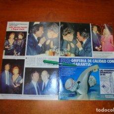 Coleccionismo de Revistas y Periódicos: CLIPPING 1984: JULIO IGLESIAS. RAQUEL WELCH. OSCAR DE LA RENTA. HELGA WAGNER. REGINE. . Lote 194645660