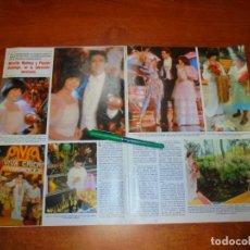 Coleccionismo de Revistas y Periódicos: CLIPPING 1984: MIREILLE MATHIEU Y PLÁCIDO DOMINGO.. Lote 194645716