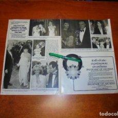 Coleccionismo de Revistas y Periódicos: CLIPPING 1984: LINDA EVANS. JOAN COLLINS. CHARLENE TILTON. BOB HOPE. JANE FONDA. LINDA GRAY. . Lote 194645793