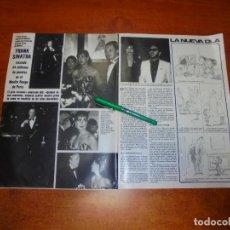 Coleccionismo de Revistas y Periódicos: CLIPPING 1984: FRANK SINATRA. CAROLINA DE MÓNACO. RINGO STAR (BEATLES). GREGORY PECK. . Lote 194645812
