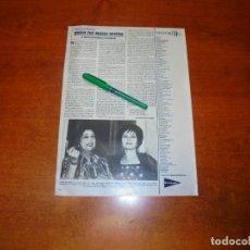 Coleccionismo de Revistas y Periódicos: CLIPPING 1984: QUIÉN FUE MARÍA SEVERA. HISTORIA DE LA FADISTA Y EL ARISTÓCRATA. . Lote 194645836
