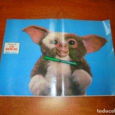 Coleccionismo de Revistas y Periódicos: PÓSTER 1984: LOS GREMLINS. GIZMO, EL BUENO.. Lote 194645958
