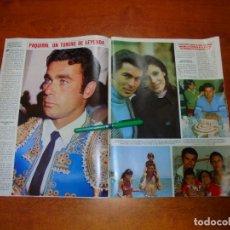Coleccionismo de Revistas y Periódicos: PÓSTER 1984: PAQUIRRI. CARMEN ORDOÑEZ. ISABEL PANTOJA. CHIQUETETE. MIGUEL BOSÉ. TERESA RABAL. . Lote 194646161