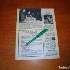 Coleccionismo de Revistas y Periódicos: PÓSTER 1969: NUEVA LINEA DE BELLEZA NOCTI DE LA FIRMA DEL DR. PAYOT. . Lote 194646303