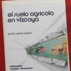 Coleccionismo de Revistas y Periódicos: TEMAS VIZCAINOS. EL SUELO AGRÍCOLA DE VIZCAYA. Lote 194647892