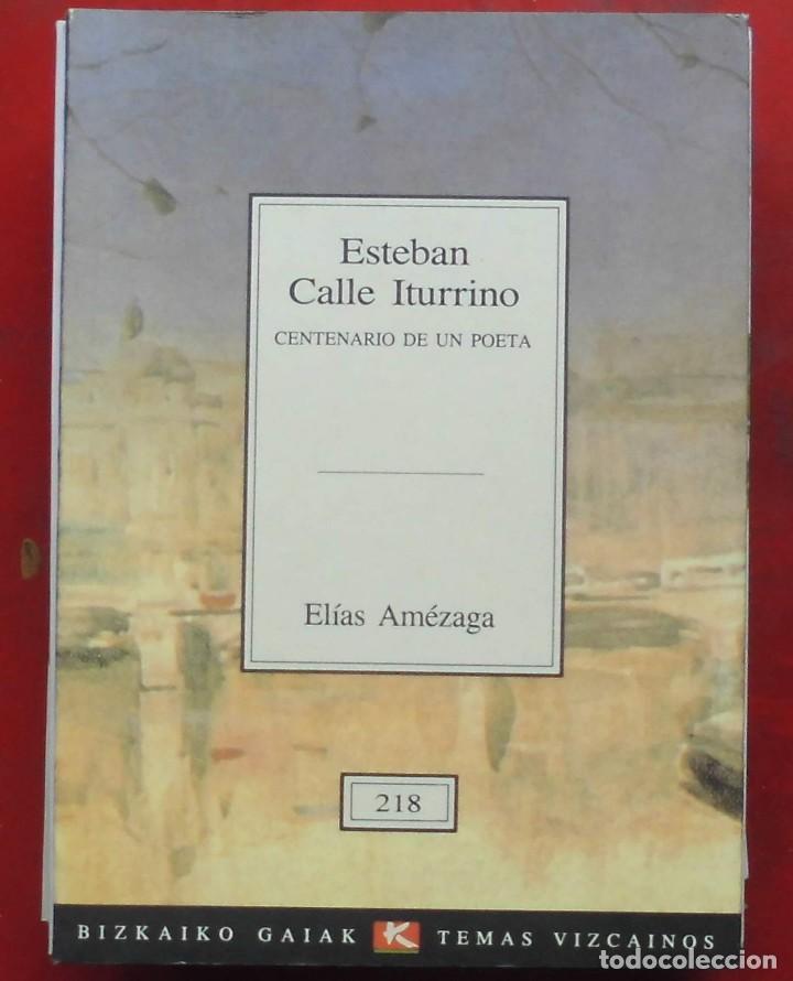 TEMAS VIZCAINOS. ESTEBAN CALLE ITURRINO (Coleccionismo - Revistas y Periódicos Modernos (a partir de 1.940) - Otros)
