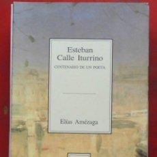 Coleccionismo de Revistas y Periódicos: TEMAS VIZCAINOS. ESTEBAN CALLE ITURRINO. Lote 194647931