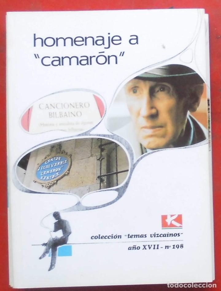 TEMAS VIZCAINOS. HOMENAJE A CAMARÓN (Coleccionismo - Revistas y Periódicos Modernos (a partir de 1.940) - Otros)