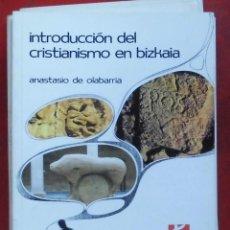 Coleccionismo de Revistas y Periódicos: TEMAS VIZCAINOS. INTRODUCCIÓN DEL CRISTIANISMO EN BIZKAIA. Lote 194648447