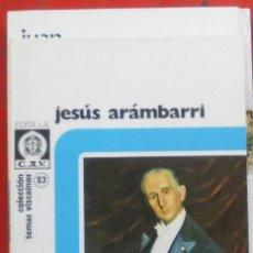 Coleccionismo de Revistas y Periódicos: TEMAS VIZCAINOS. JESÚS ARÁMBARRI. Lote 194648478