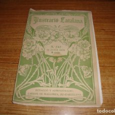 Coleccionismo de Revistas y Periódicos: REVISTA ILUSTRACIO CATALANA Nº 242 DE 19 JANER 1908. Lote 194650671