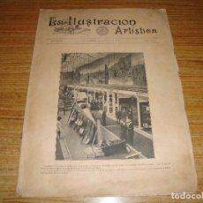 Coleccionismo de Revistas y Periódicos: REVISTA LA ILUSTRACION ARTISTICA Nº 1756 DE 23 AGOSTO 1915. Lote 194650868
