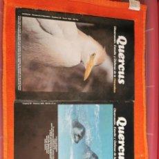 Coleccionismo de Revistas y Periódicos: REVISTAS QUERCUS NÚMEROS 22Y23 AÑO 1986. Lote 194665620