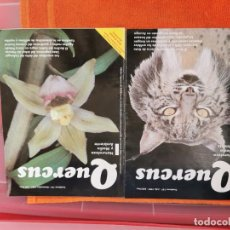 Coleccionismo de Revistas y Periódicos: REVISTA QUERCUS NÚMEROS 137Y141 AÑO 1997. Lote 194665868