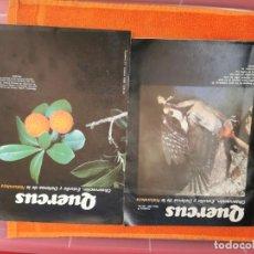Coleccionismo de Revistas y Periódicos: REVISTAS QUERCUS NÚMEROS 39Y21 AÑOS 85Y89. Lote 194666720