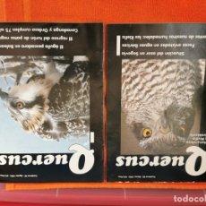 Coleccionismo de Revistas y Periódicos: REVISTAS QUERCUS NÚMEROS 85Y90 AÑO 1993. Lote 194667590