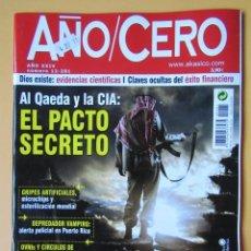 Coleccionismo de Revistas y Periódicos: AÑO CERO - NÚM. 281 (AL QAEDA Y LA CIA: EL PACTO SECRETO) - DIVERSOS AUTORES. Lote 194670205