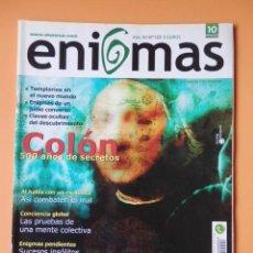 Coleccionismo de Revistas y Periódicos: ENIGMAS DEL HOMBRE Y DEL UNIVERSO. AÑO XII. Nº 125 (COLÓN, 500 AÑOS DESPUÉS) - DIVERSOS AUTORES. Lote 194670230