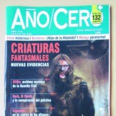 Coleccionismo de Revistas y Periódicos: AÑO CERO - NÚM. 218 (CRIATURAS FANTASMALES) - DIVERSOS AUTORES. Lote 194670298