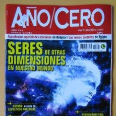 Coleccionismo de Revistas y Periódicos: AÑO CERO - NÚM. 283 (SERES DE OTRAS DIMENSIONES EN NUESTRO MUNDO) - DIVERSOS AUTORES. Lote 194670303