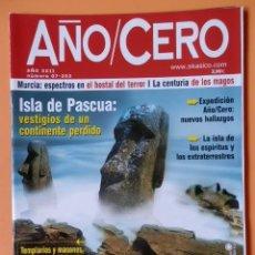 Coleccionismo de Revistas y Periódicos: AÑO CERO - NÚM. 252 (ISLA DE PASCUA: VESTIGIOS DE UN CONTINENTE PERDIDO). Lote 194675730