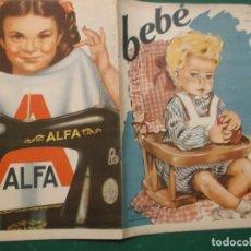 Coleccionismo de Revistas y Periódicos: FIGURIN DE MODA DE BEBE Nº 3, PUBLICACIONES MUNDIAL, EN B/N,MENOS PORTADAS, 20 PAGINAS 22 X32. Lote 194675781