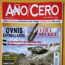 Coleccionismo de Revistas y Periódicos: AÑO CERO - NÚM. 272 (PLAN DE EXTERMINIO MUNDIAL. ¿ESTAMOS GOBERNADOS POR PSICÓPATAS?). Lote 194676060
