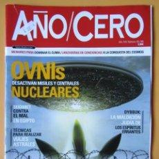 Coleccionismo de Revistas y Periódicos: AÑO CERO - NÚM. 286 (OVNIS DESACTIVAN MISILES Y CENTRALES NUCLEARES). Lote 194676205