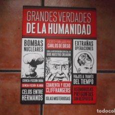 Coleccionismo de Revistas y Periódicos: GRANDES VERDADES DE LA HUMANIDAD POR CARLOS DE DIEGO, PUBLICADO POR CARAMBA, 2013,EN B/N. Lote 194678001