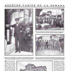 Coleccionismo de Revistas y Periódicos: 1911 HOJA REVISTA BARCELONA MATARÓ CARRERA INTERNACIONAL DE MOTOCICLETAS MOTOS. Lote 194692260