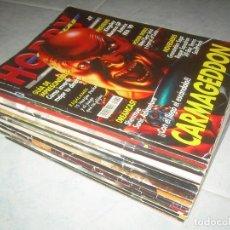 Coleccionismo de Revistas y Periódicos: LOTE 13 REVISTAS HOBBY CONSOLAS. JUEGOS VIDEOJUEGOS GUÍAS. SIN PÓSTERS. VER FOTOS, LEER LIST.. Lote 194693842