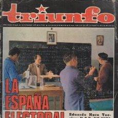 Coleccionismo de Revistas y Periódicos: REVISTA TRIUNFO. AÑO XXXIII Nº 841 MARZO 1979. - A-REV-1699. Lote 194720837