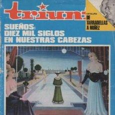 Coleccionismo de Revistas y Periódicos: REVISTA TRIUNFO. AÑO XXXIII Nº 878 NOVIEMBRE 1979. - A-REV-1700. Lote 194720933