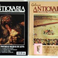 Coleccionismo de Revistas y Periódicos: 2 REVISTAS GALERÍA ANTICUARIA - ARTE CONTEMPORÁNEO - ANTIGÜEDADES - SUBASTAS - COLECCIONISMO . Lote 194742972