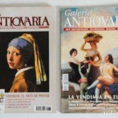 Coleccionismo de Revistas y Periódicos: 2 REVISTAS GALERÍA ANTICUARIA - ARTE CONTEMPORÁNEO - ANTIGÜEDADES - SUBASTAS - COLECCIONISMO . Lote 194742982