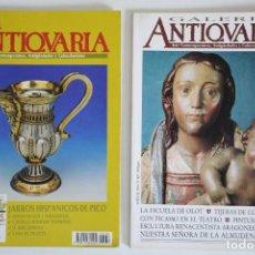 Coleccionismo de Revistas y Periódicos: 2 REVISTAS GALERÍA ANTICUARIA - ARTE CONTEMPORÁNEO - ANTIGÜEDADES - SUBASTAS - COLECCIONISMO . Lote 194743000