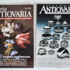 Coleccionismo de Revistas y Periódicos: 2 REVISTAS GALERÍA ANTICUARIA - ARTE CONTEMPORÁNEO - ANTIGÜEDADES - SUBASTAS - COLECCIONISMO . Lote 194743030