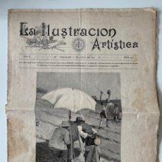 """Coleccionismo de Revistas y Periódicos: REVISTA """"LA ILUSTRACIÓN ARTÍSTICA"""" 1891/ NÚMERO 495. Lote 194765268"""