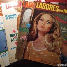 Coleccionismo de Revistas y Periódicos: REVISTA LABORES DEL HOGAR. 1958. Lote 194766497