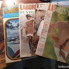 Coleccionismo de Revistas y Periódicos: REVISTA LABORES DEL HOGAR. 1964-1969. Lote 194766571
