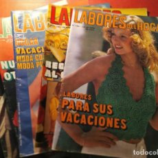 Coleccionismo de Revistas y Periódicos: REVISTA LABORES DEL HOGAR. 1973-1974. Lote 194766888