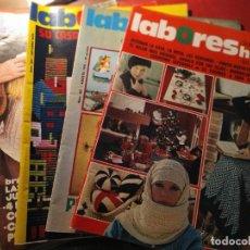 Coleccionismo de Revistas y Periódicos: REVISTA LABORES DEL HOGAR. 1975-1978. Lote 194767125
