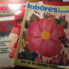 Coleccionismo de Revistas y Periódicos: REVISTA LABORES DEL HOGAR. 1980-81. Lote 194767195