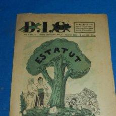 Coleccionismo de Revistas y Periódicos: (M) REVISTA DIC ANY II NUM 41 BARCELONA 1932 ESTATUT DRET CIVIL, SEÑALES DE USO NORMALES. Lote 194767491