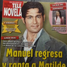 Coleccionismo de Revistas y Periódicos: TELENOVELA - NUMERO 636 - 2005 - AMOR REAL - FERNANDO COLUNGA - MARIANA OCHOA - JULIAN LEGASPI. Lote 194767580
